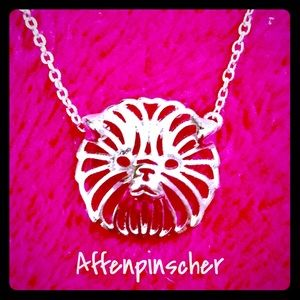 Brand New Affenpinscher Pendant Necklace